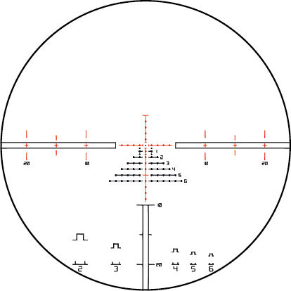 MDR-T6 reticle