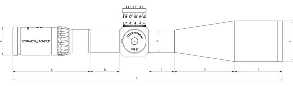 tz 5-25x56 PM II / LP
