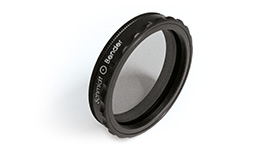 Polarization filter – with thread