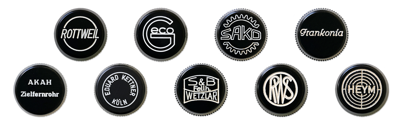 Some examples of the OEM products like Geco, Sako, Frankonia, Rottweil, Kettner, RWS, Heym und Akah