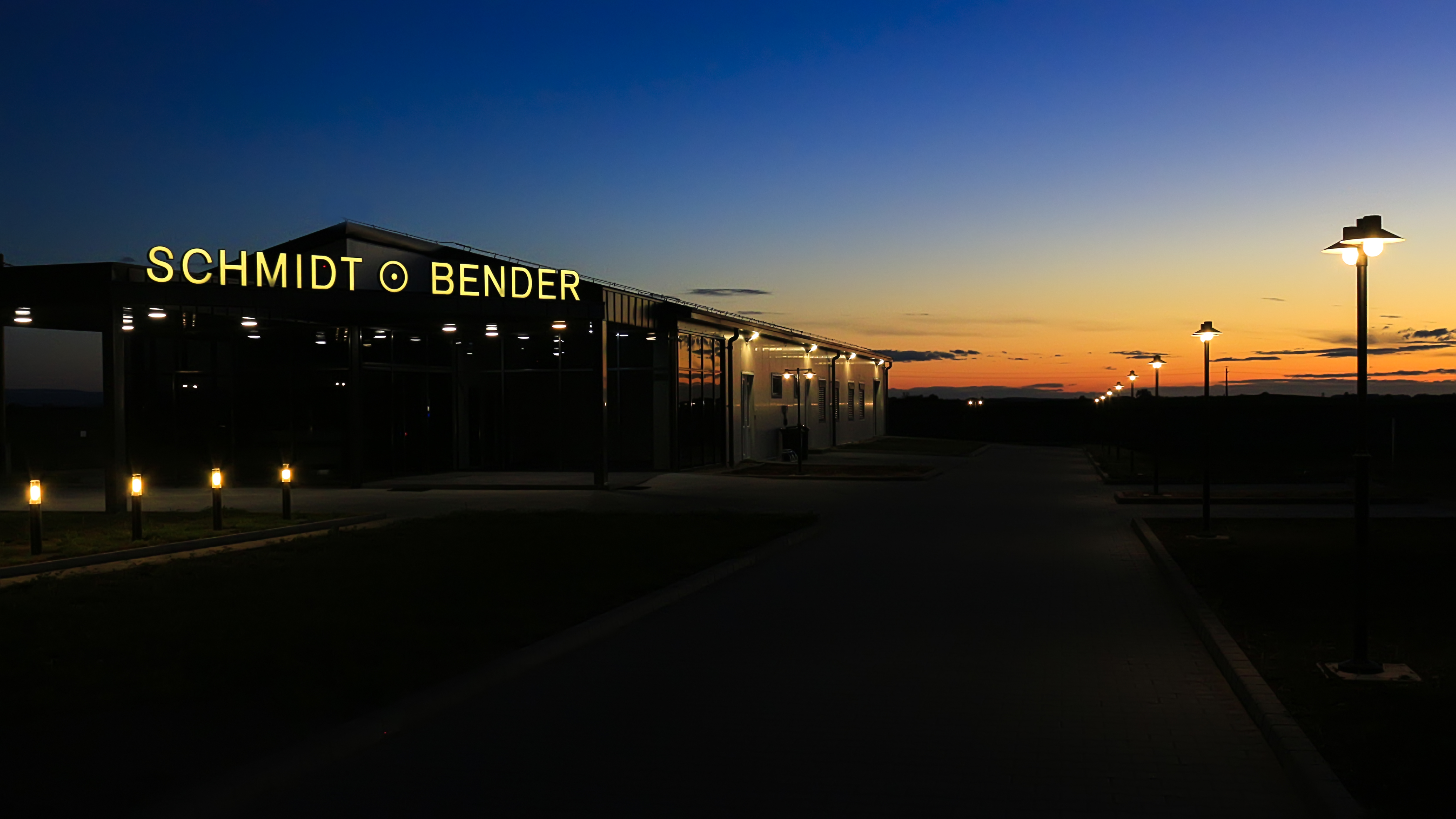 Picture of new plant Schmidt & Bender Hungary